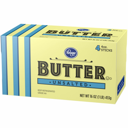 Kroger® Unsalted Butter Sticks Perspective: right