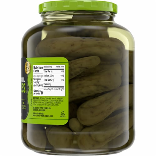 Kroger® Kosher Whole Dill Pickles Perspective: right