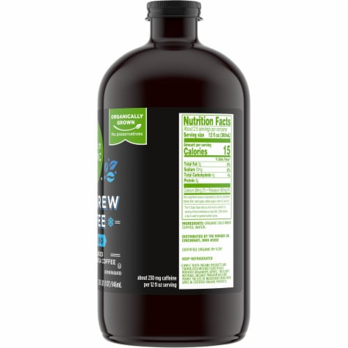 Simple Truth Organic™ Kona Blend Cold Brew Coffee Perspective: right