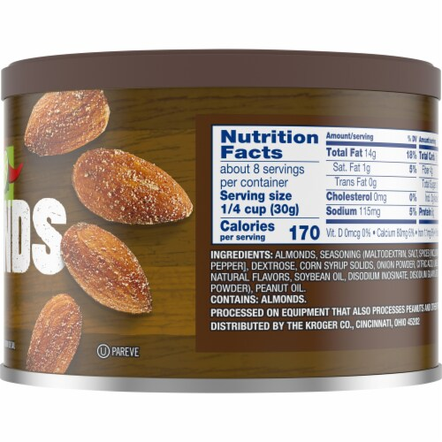 Kroger® Chili Lime Seasoned Almonds Perspective: right