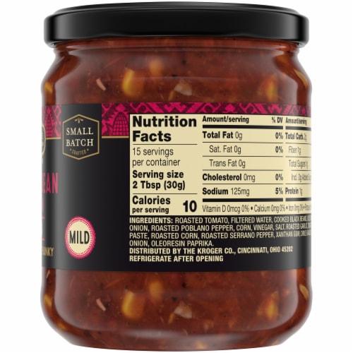 Private Selection® Mild Black Bean & Corn Salsa Perspective: right