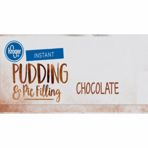 Kroger® Chocolate Instant Pudding & Pie Filling Perspective: right