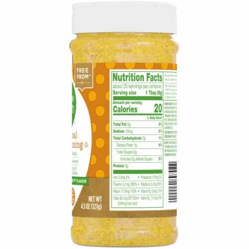 Simple Truth™ Gluten Free Nutritional Yeast Seasoning Perspective: right