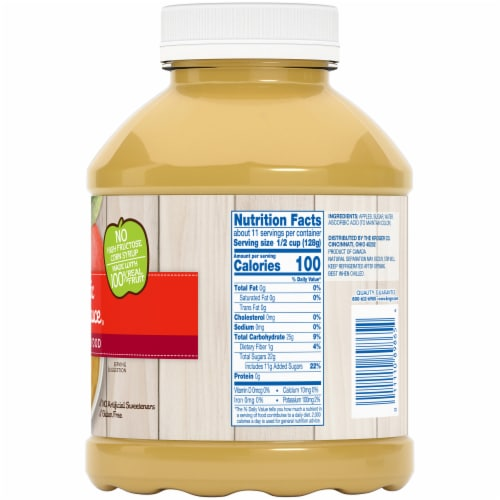 Kroger® Classic Applesauce Perspective: right
