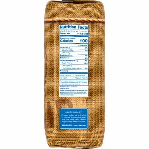 Kroger® White Whole Wheat Milled Flour Perspective: right