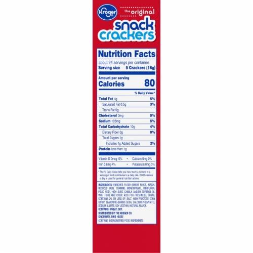 Kroger® Original Snack Crackers Perspective: right