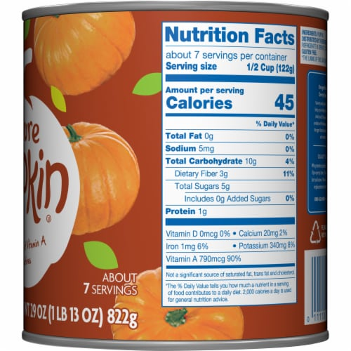 Kroger® 100% Pure Pumpkin Perspective: right