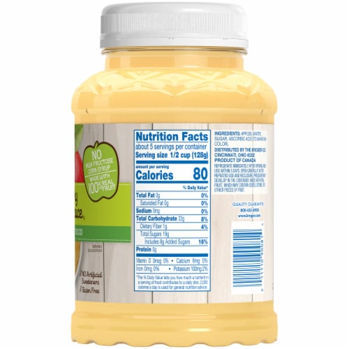 Kroger® Chunky Applesauce Perspective: right