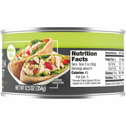 Kroger® Premium Natural Chicken Breast Chunk in Water Perspective: right