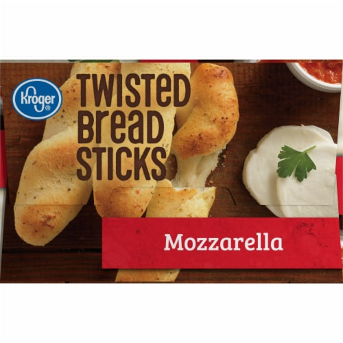 Kroger® Mozzarella Twisted Bread Sticks Perspective: right