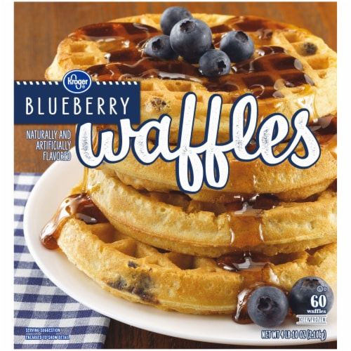 Kroger® Blueberry Waffles Perspective: right
