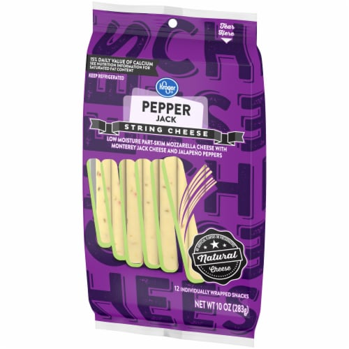 Kroger® Pepper Jack String Cheese Perspective: right