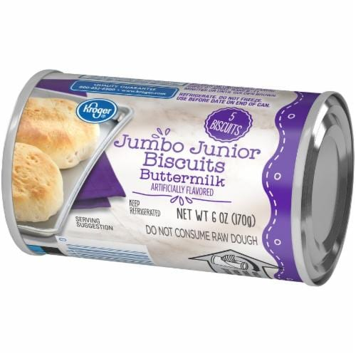 Kroger® Buttermilk Jumbo Junior Biscuits Perspective: right