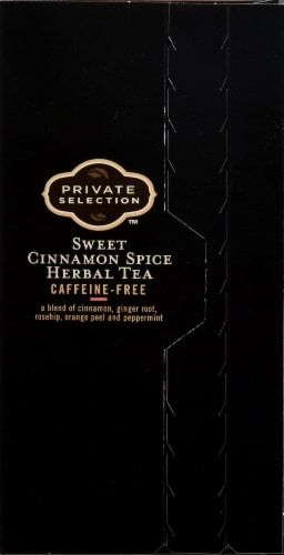 Private Selection™ Caffeine Free Sweet Cinnamon Spice Herbal Tea Bags 20 Count Perspective: right