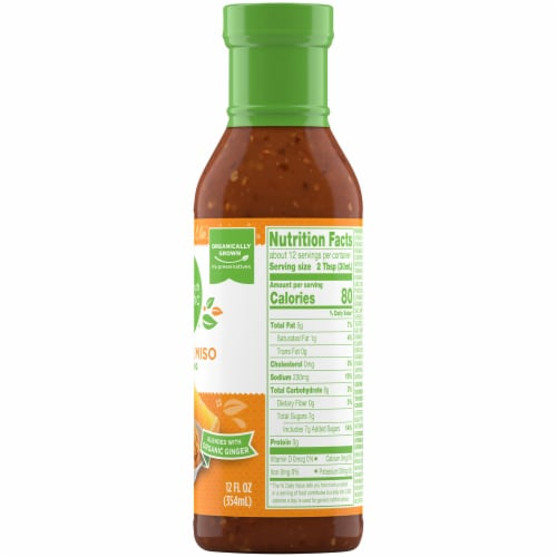 Simple Truth Organic® Orange Miso Dressing Perspective: right