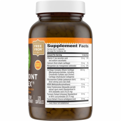 Simple Truth® Super Joint Complex Capsules 120 Count Perspective: right