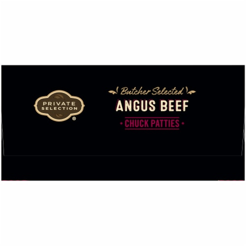 Private Selection™ Angus Beef Chuck Patties 6 Count Perspective: right