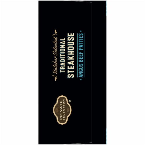 Private Selection® Traditional Steakhouse Angus Beef Patties Perspective: right
