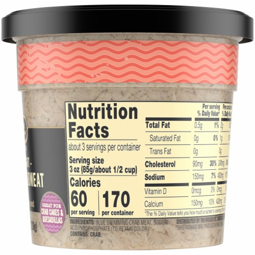 Private Selection® Wild Caught Special Crab Meat Perspective: right