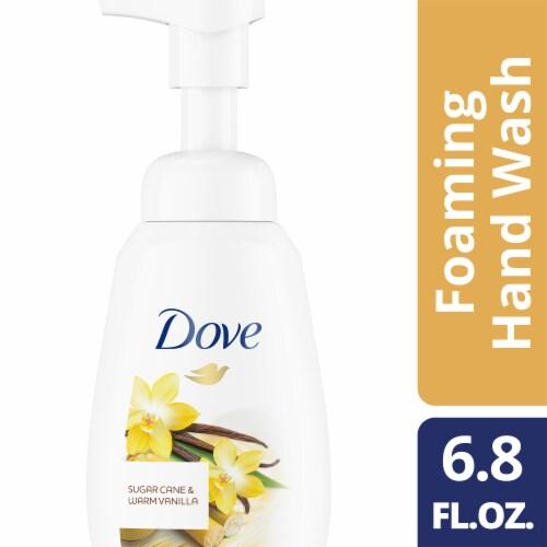 Dove Sugar Cane & Warm Vanilla Foaming Hand Wash Perspective: right