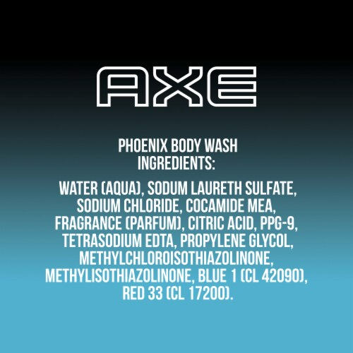 Axe Phoenix Crushed Mint & Rosemary Body Wash Perspective: right