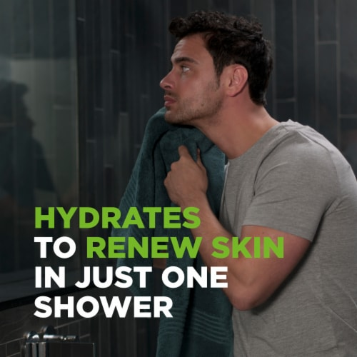 Dove Men+Care Extra Fresh Micro Moisture Body and Face Wash Perspective: right