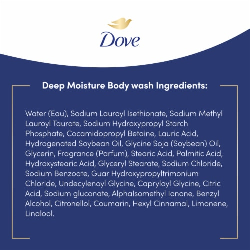 Dove Deep Moisture Nourishing Body Wash Perspective: right