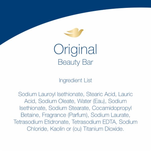 Dove White Deep Moisture Beauty Bars 8 Count Perspective: right