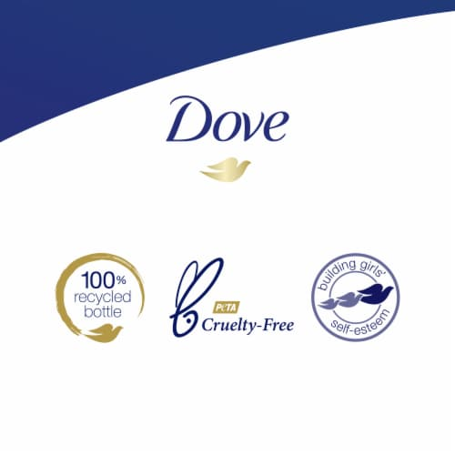 Dove Deep Moisture Instant Foaming Body Wash Pump Perspective: right