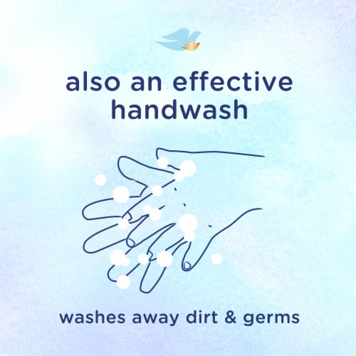 Baby Dove Rich Moisture Baby Wash Perspective: right