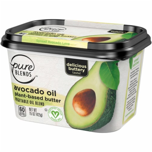 Pure Blends Avocado Oil Plant-Based Butter Perspective: right