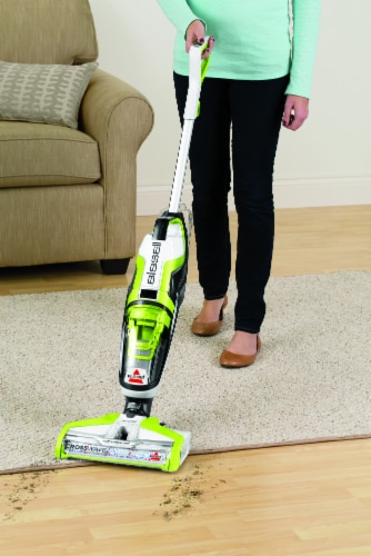Bissell® CrossWave® Green & Black All-in-One Multi-Surface Wet Dry Vacuum Perspective: right