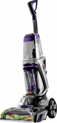 Bissell ProHeat 2X Revolution Pet Pro Carpet Cleaner - Silver/Purple Perspective: right
