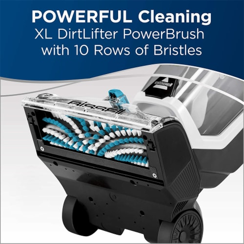 Bissell 25299 JetScrub Pet Upright Carpet Deep Cleaner w/Cleaning Solution Perspective: right