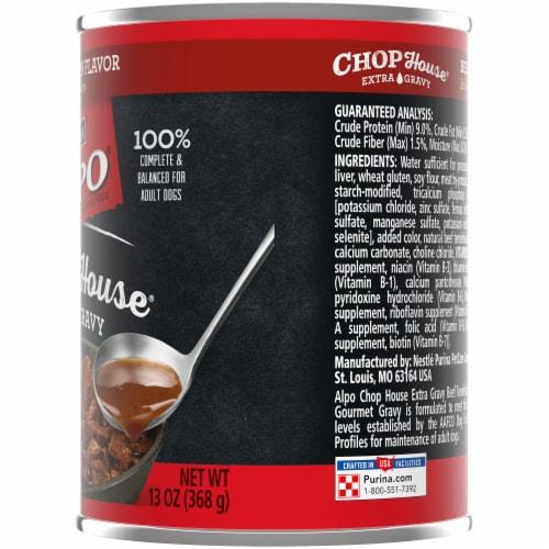 Purina Alpo Chop House Beef Tenderloin Flavor Wet Dog Food Perspective: right