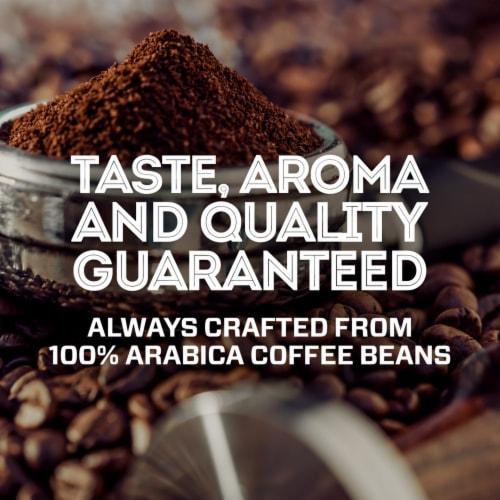 Eight O'Clock Dark Italian Roast Ground Espresso Coffee Perspective: right