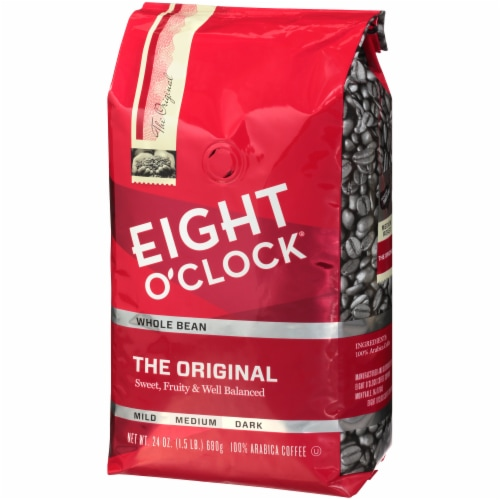 Eight O' Clock Original Coffee Beans Perspective: right