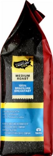 Eight O'Clock 100% Brazilian Breakfast Medium Blend Ground Coffee Perspective: right