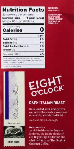 Eight O'Clock Dark Italian Roast Coffee K-Cup Pods Perspective: right