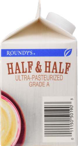 Roundy's Half & Half Perspective: right