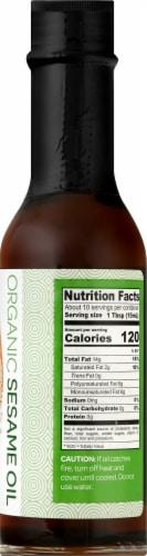 J-Basket Organic Sesame Oil Perspective: right