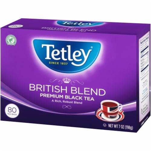 Tetley British Blend Black Tea Bags Perspective: right