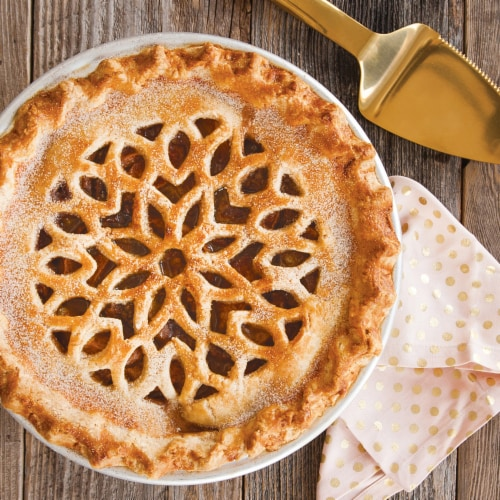 Nordic Ware Lattice & Hearts Pie Top Cutter Perspective: right