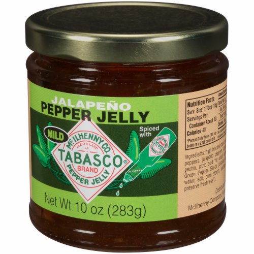 Tabasco Mild Jalapeno Pepper Jelly Perspective: right