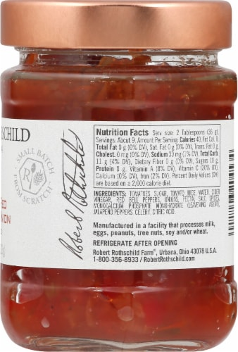Robert Rothschild Farm Roasted Red Pepper & Onion Dip & Spread Perspective: right