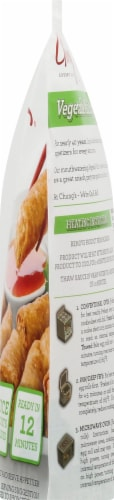 Chung's Mini Vegetable Egg Rolls Perspective: right