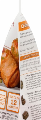 Chung's® Chicken Egg Rolls Perspective: right