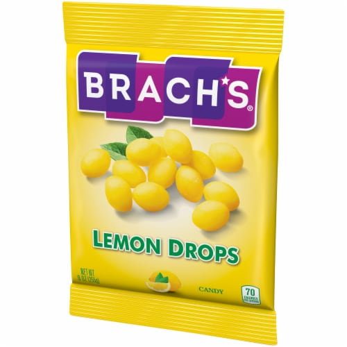 Brach's Lemon Drops Candy Perspective: right