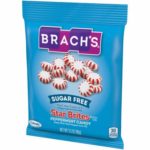 Brach's Sugar Free Star Brites Peppermint Candies Perspective: right