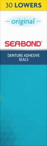 Sea-Bond Denture Adhesive Lower Seals Perspective: right